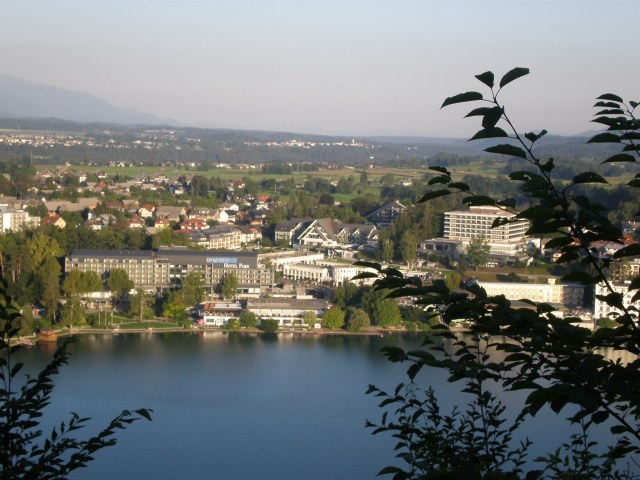 view of the lake from the rock (castle)
