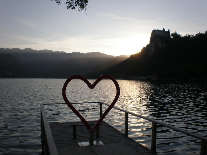 love in Bled, Slovenia