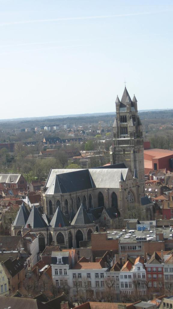 the view from the Belfry tower