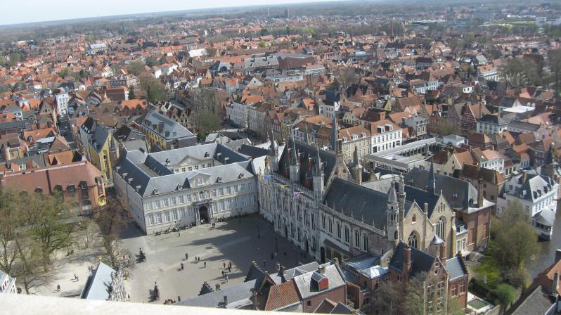 the Burg square