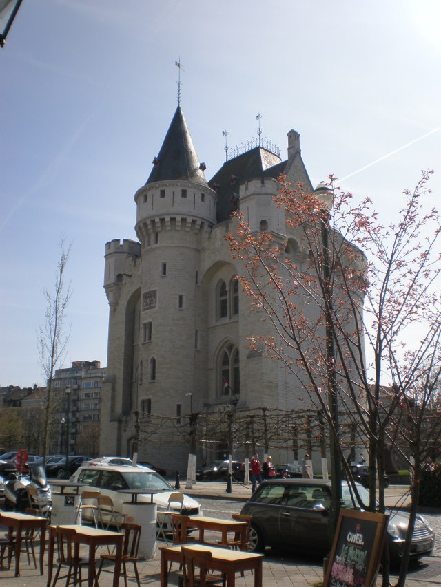 the Halle gate-remnant of Brussels old city walls