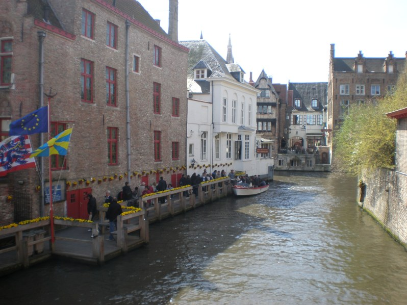 this is where we started our boat ride (just off the Burg square)