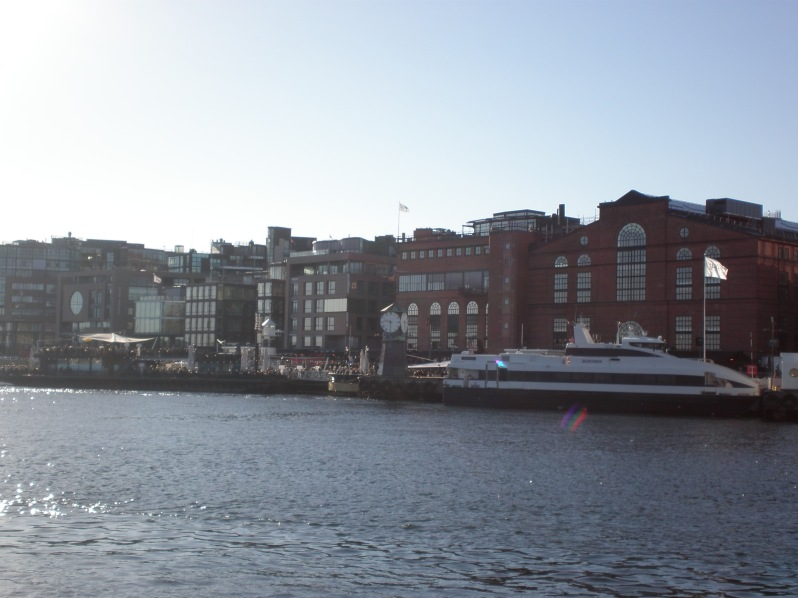 Aker Brygge wharf