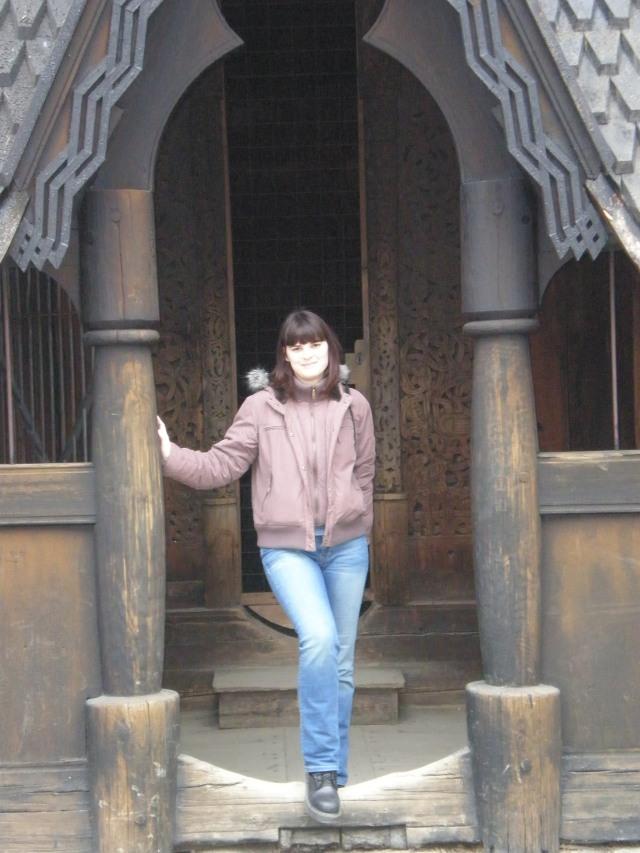 at Stave's church doorway