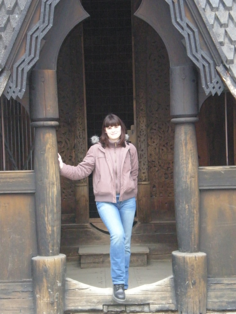 at Stave's church doorway