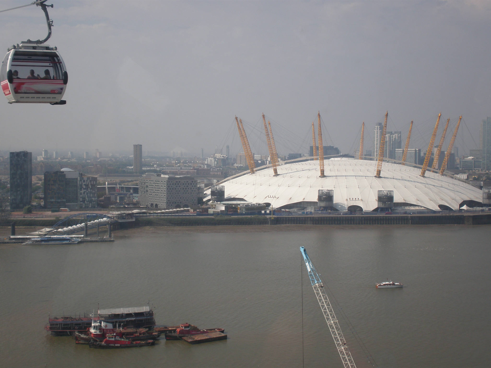 Are you afraid of heights if you are please don t read any further on the other hand if you like cable cars and london then do continue reading