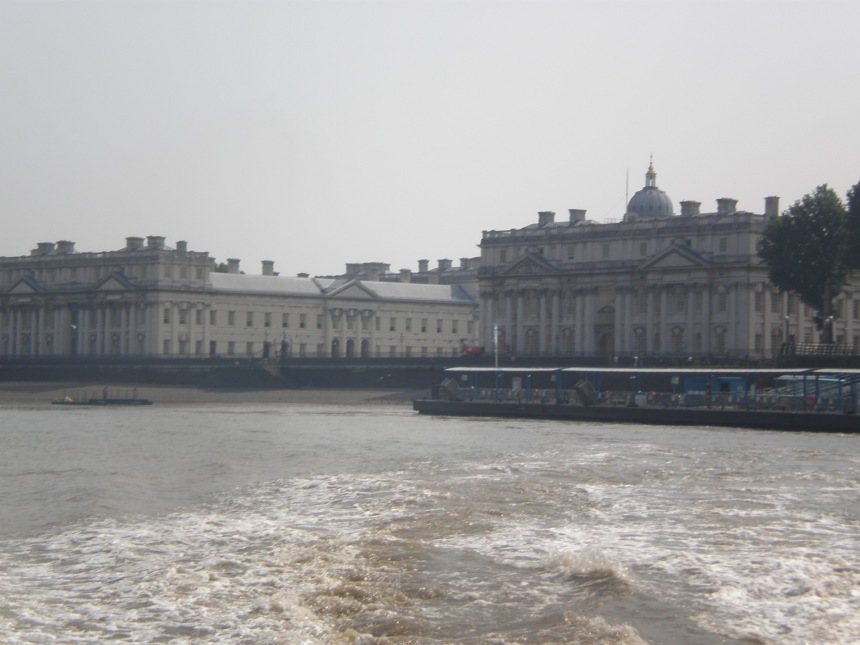 Greenwich from the boat