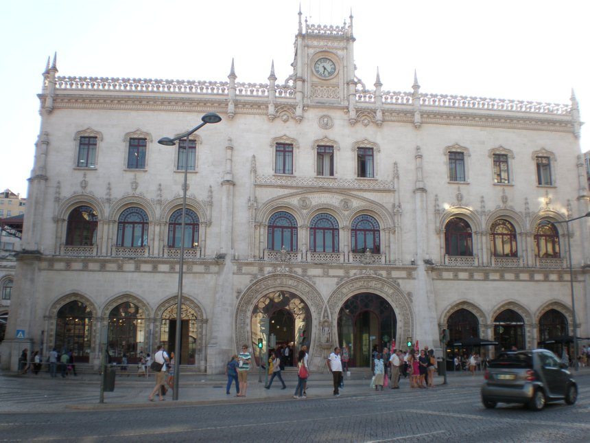 Rossio train station