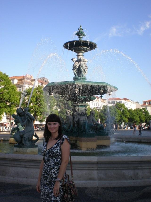 at Rossio square