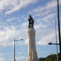 A walk around Lisbon squares (Sep 2014)