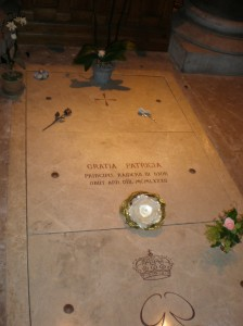 Grace Kelly's resting place