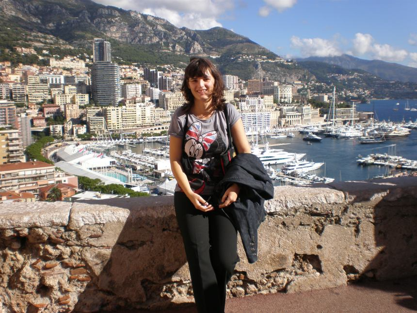 the port (la Condamine area) -my first visit in 2010