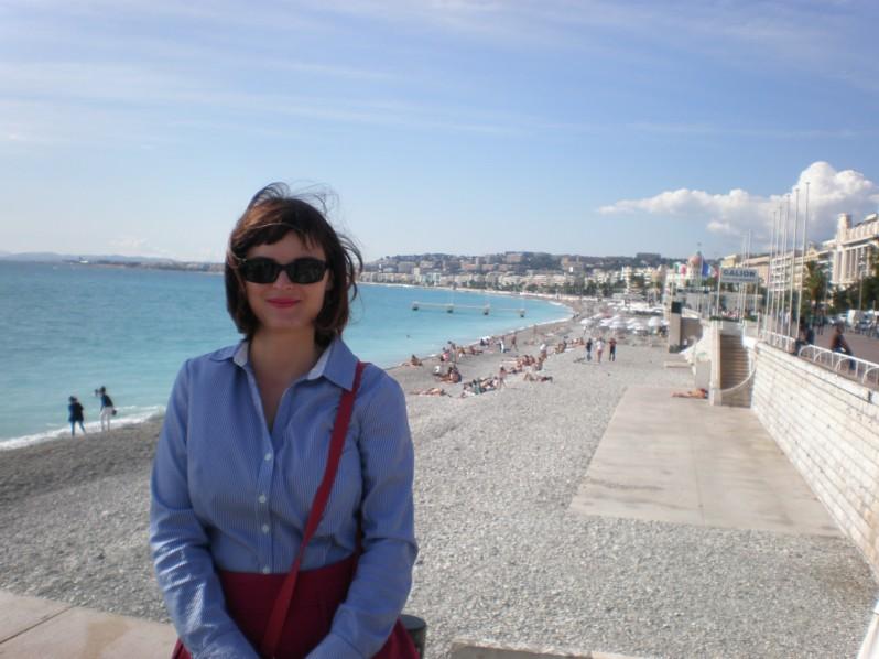 in Nice, France, 2015