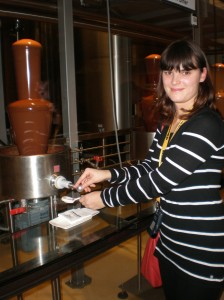 in the chocolate factory