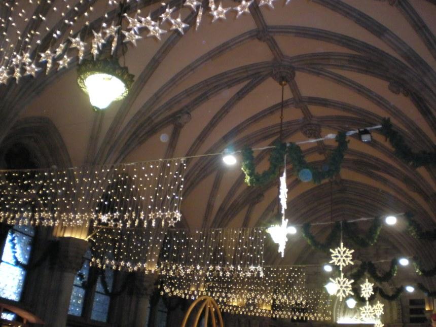 Christmas workshops inside the City Hall