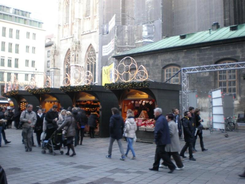 Stephansplatz Christmas market