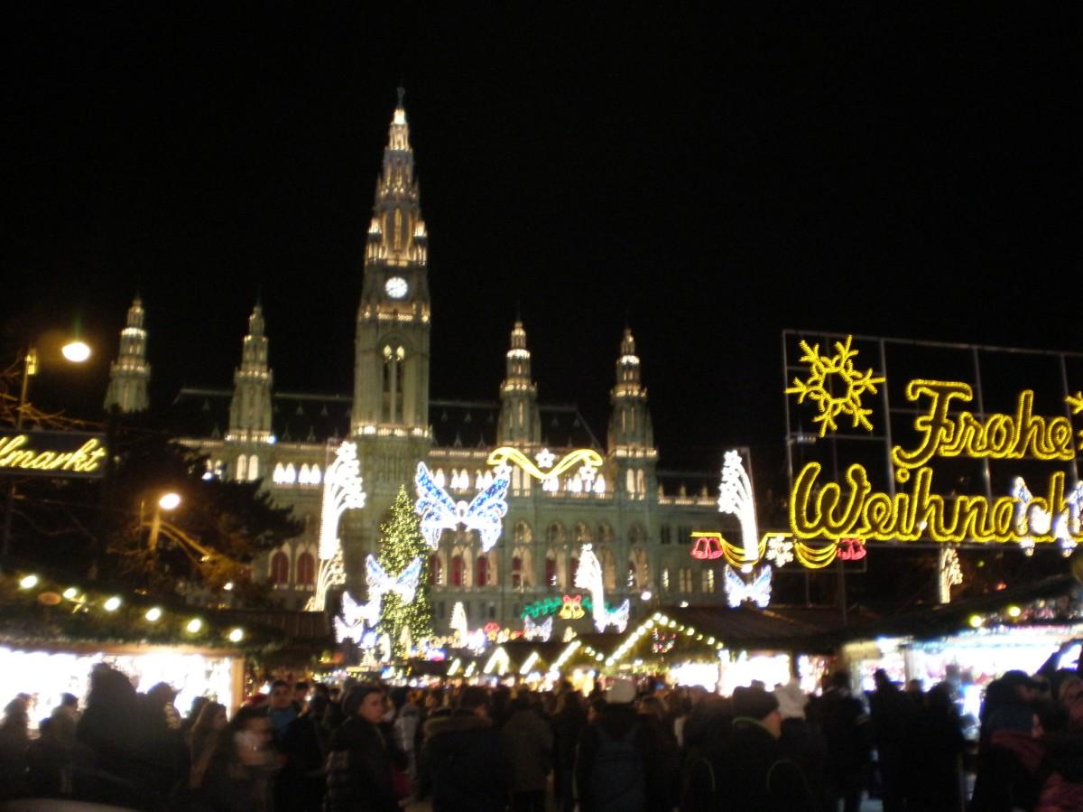 Christmas markets in Vienna (Dec 2015)
