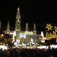 Christmas markets in Vienna (Dec 2015)