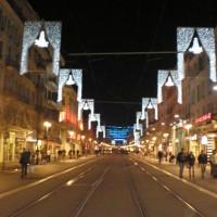 The festive season in Nice (France)