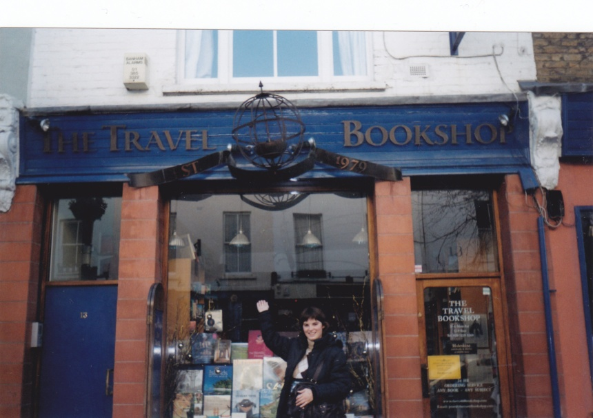 the bookstore from the movie Notting Hill, my first London trip in 2006