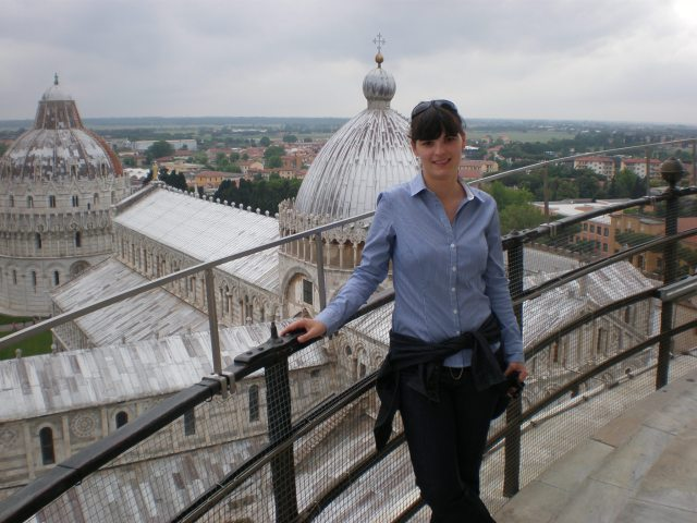 at the Leaning Tower, 2011