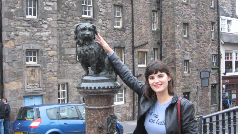 Greyfriars Bobby and me:)