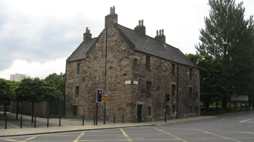 the oldest house in Glasgow