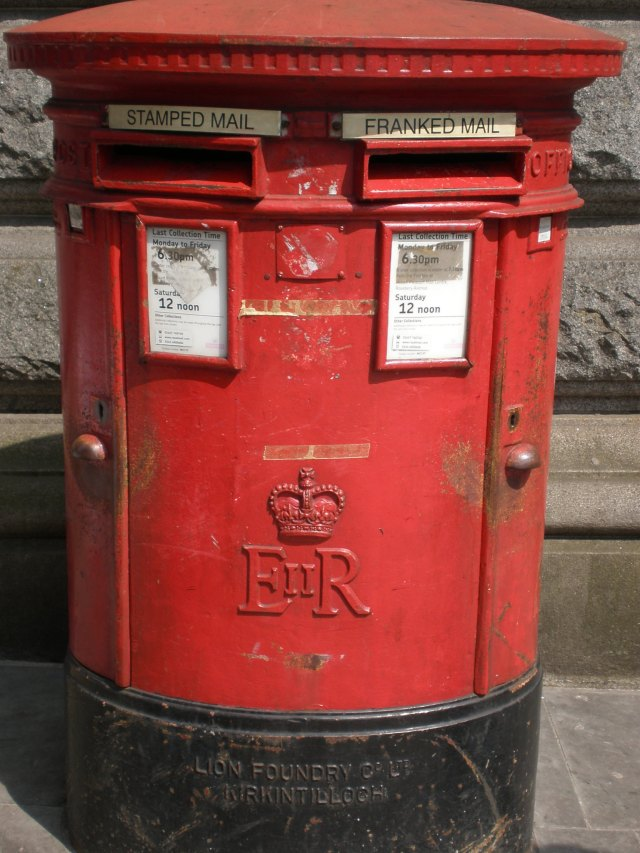 letter box in London