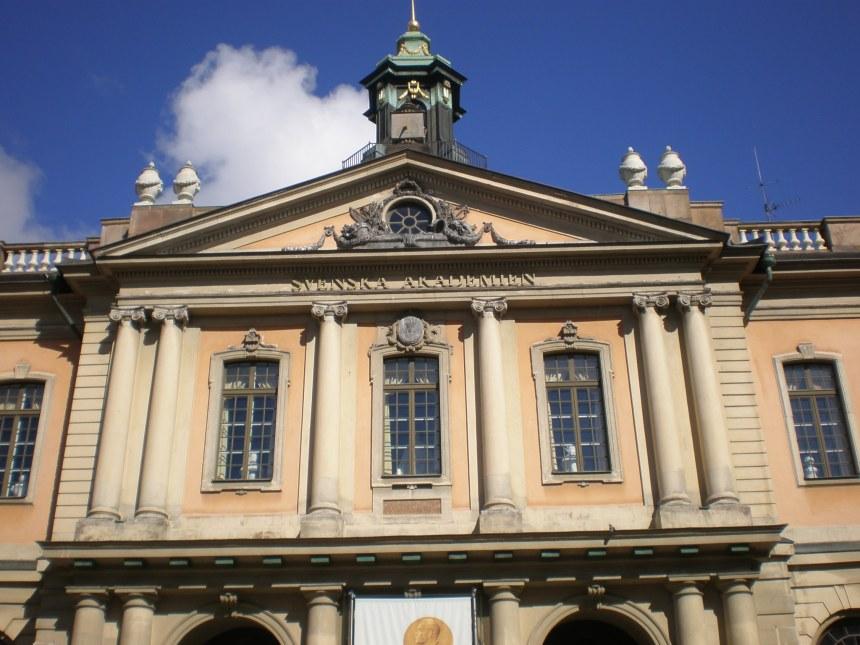 the Nobel museum is here