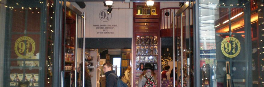 Harry Potter shop,London