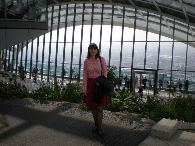 at the Sky Garden, May 2016