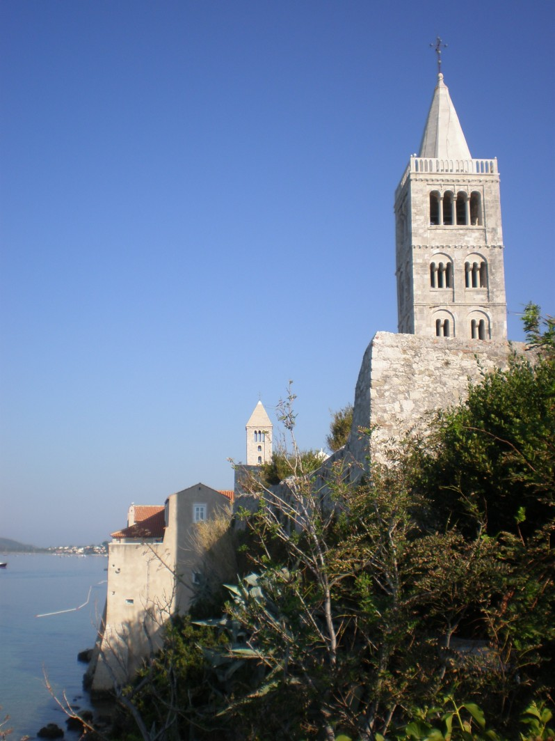 Rab towers, Croatia
