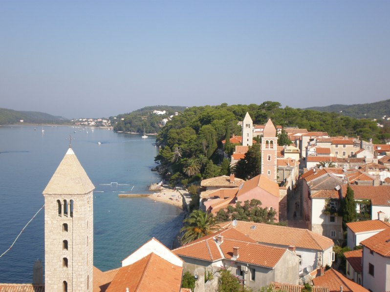 view of Rab's towers