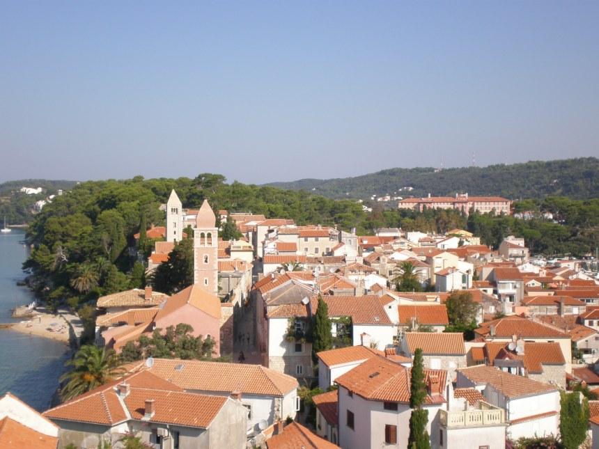 Rab town, Croatia