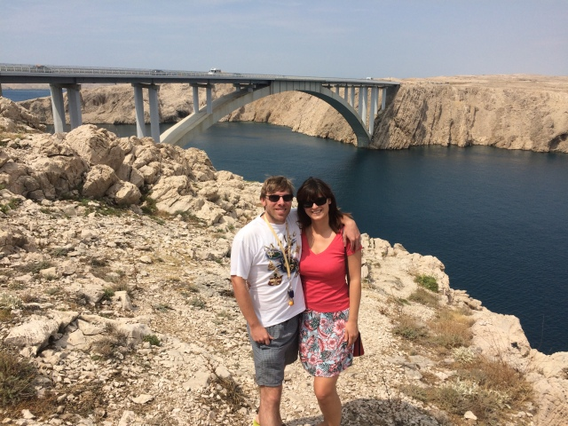 at Pag bridge this summer