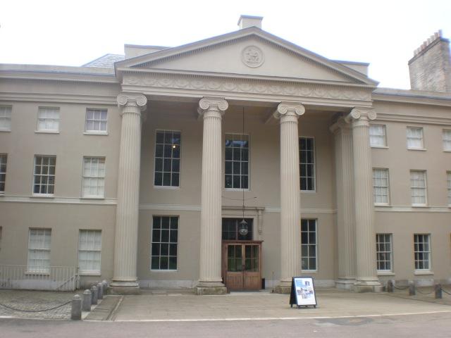 Kenwood House entrance