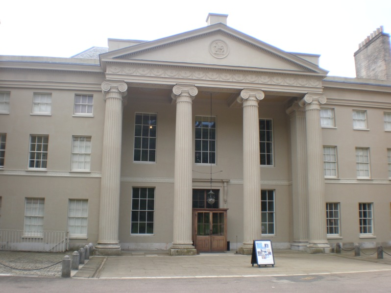 Kenwood House entrance