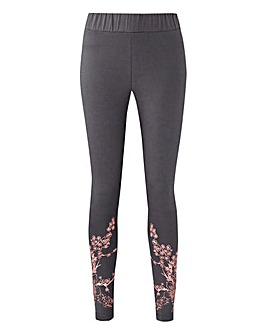 cute florals on these leggings