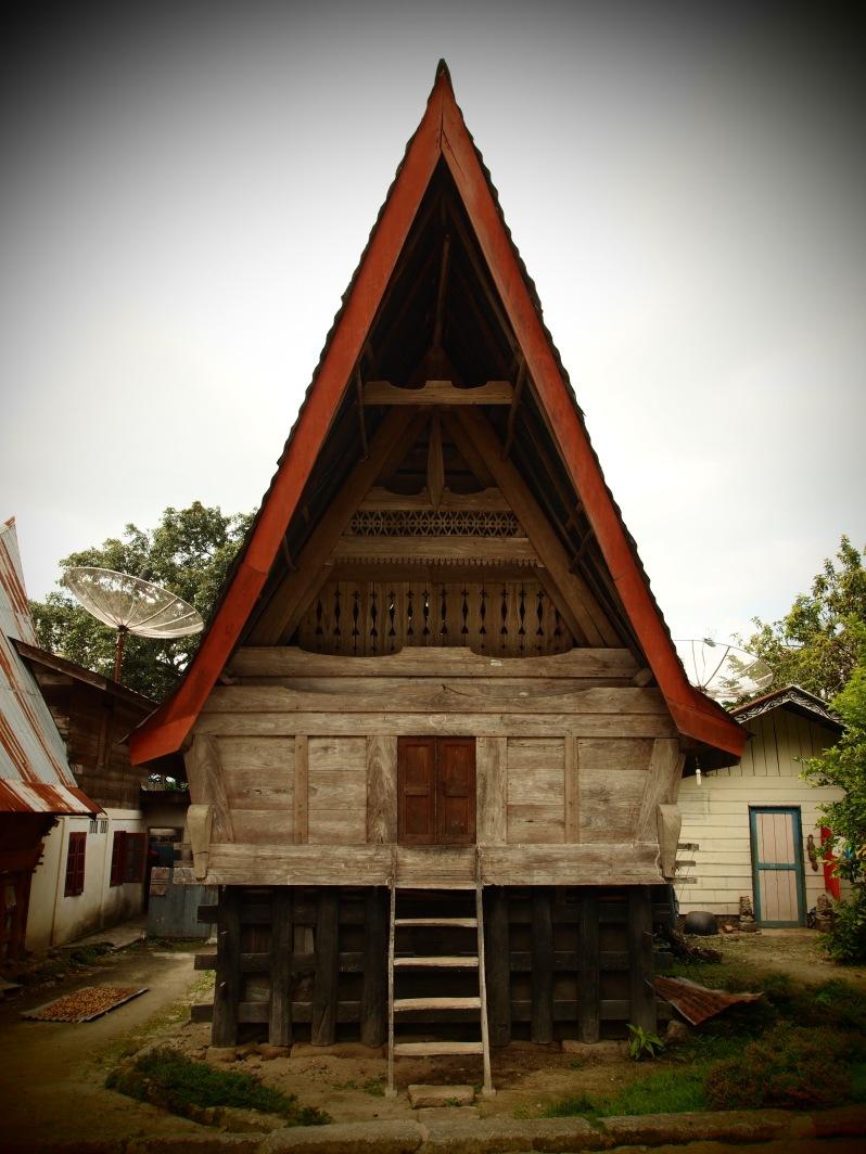 Batak house, Lake Toba