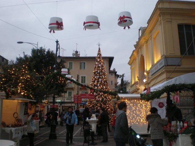Christmas market in Opatija