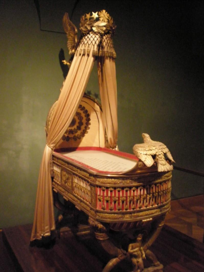 cradle of Napoleon's son