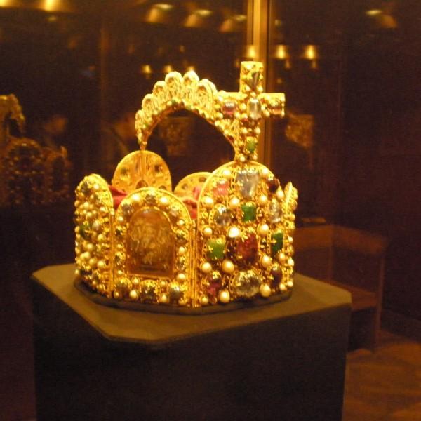 Imperial Crown in Imperial Treasury Vienna