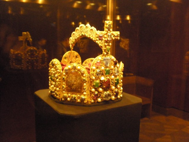 Imperial Crown in Imperial Treasury Vienna