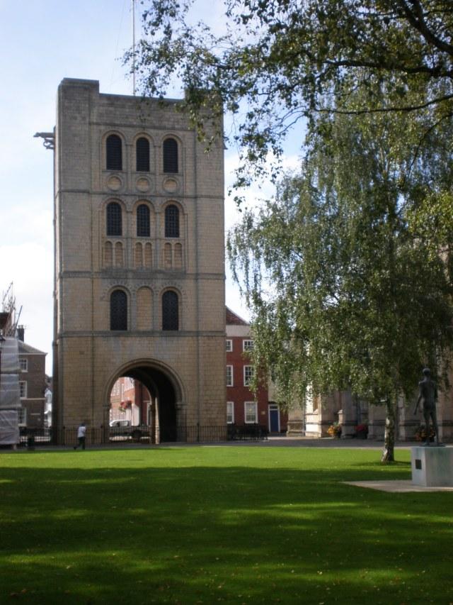Norman tower, Bury St Edmunds