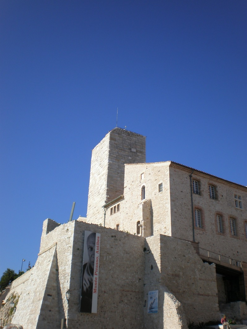 Picasso museum in Antibes, France