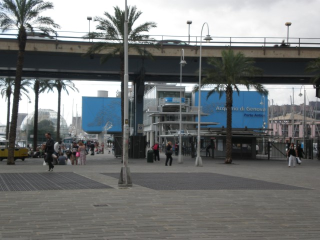 aquarium in Genoa