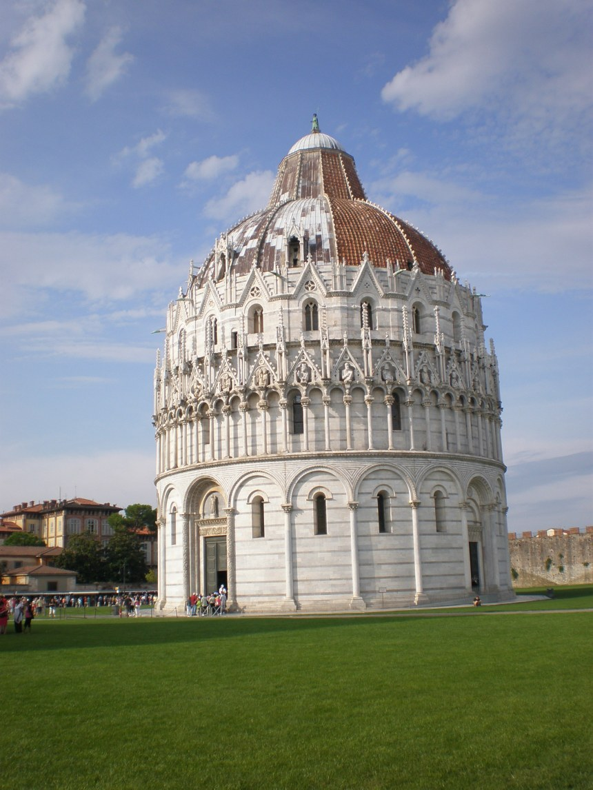 Baptistery at the Field of Miracles, Pisa
