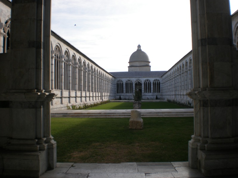 Monumental Cemetery, the Field of Miracles, Pisa