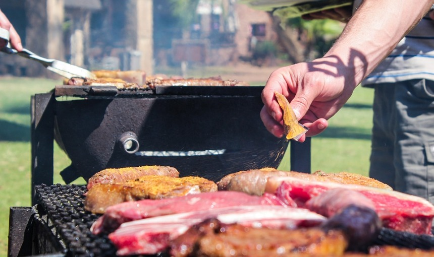 Summer South Africa Africa Meat Braai Barbecue