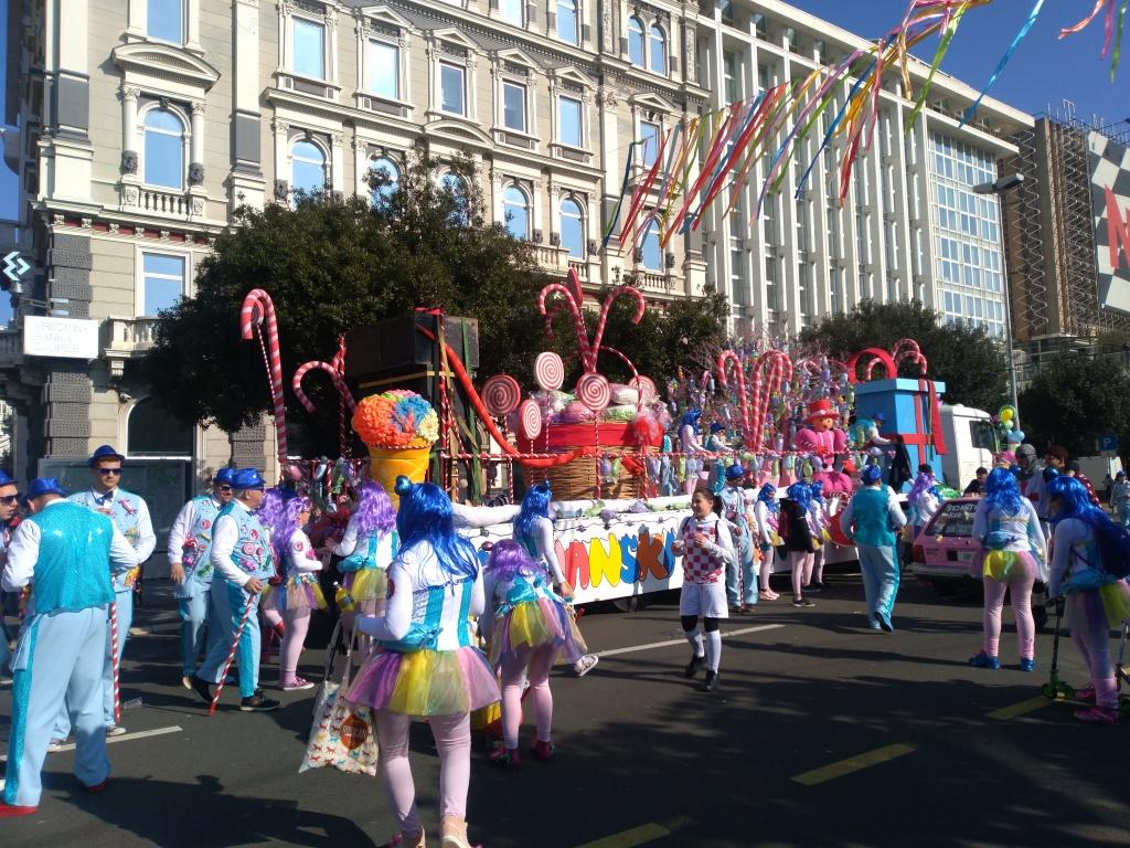 Carnival in Rijeka, Croatia